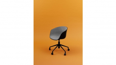 bureaustoel HAY About a Chair AAC52 kunststof of Front Upholstery2