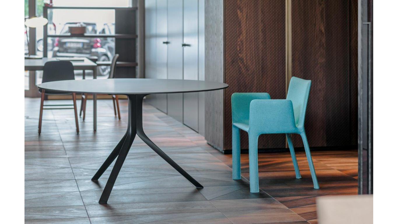 Ronde tafel wit of zwart volkernblad Ø cm Ø cm of Ø cm