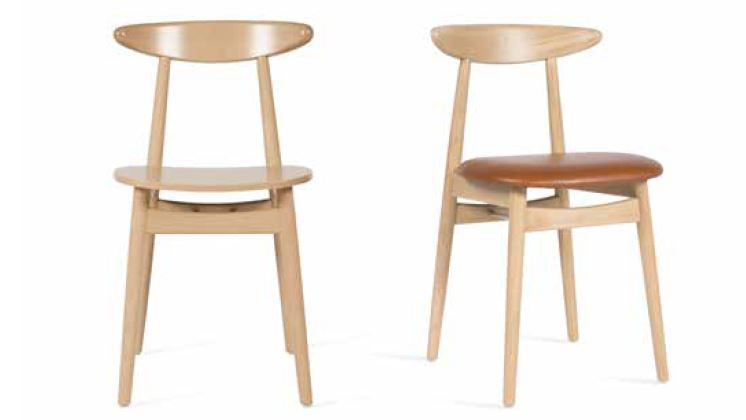 Stoel hout best vt wonen school stoel hout vintage with for Trendy stoelen