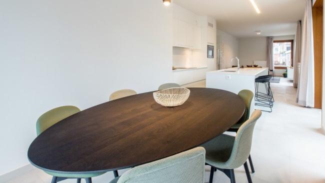 Ovale Tafel Hout : Ovale tafel in hout art 07.spa000