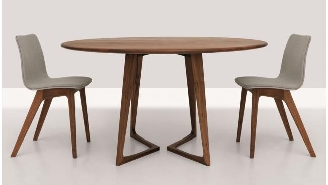 Ronde Tafel Hout : Art ronde tafel