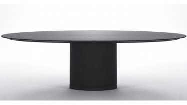 ovale tafel in hout | art 07.SPA000