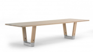 tafel in massief hout | art 07.BE000