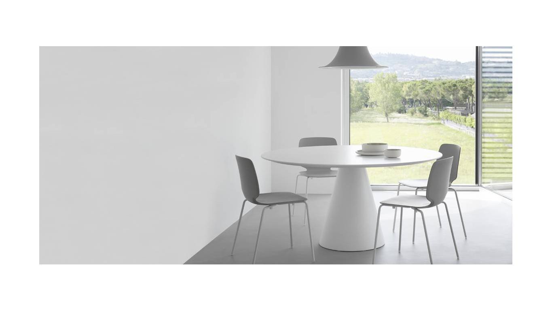 Onderstel Ronde Tafel : Ronde tafel Ø cm tot Ø cm met kegel onderstel art