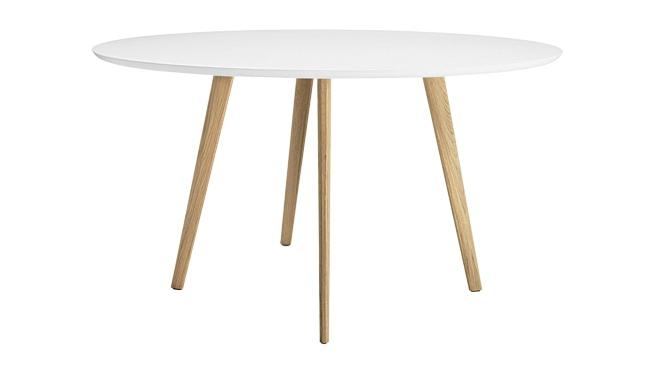Ronde tafel wit 4 poten hout art 15.35xx