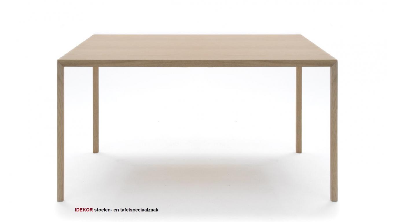 Vierkante Eettafel 150 150.Vierkante Tafel In Hout 150 X 150cm